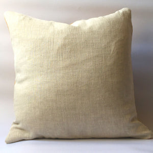 Back of cushion, plain neutral
