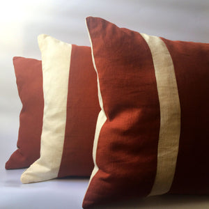 red squirrel collection of three cushions