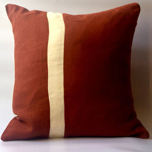 Red squirrel cushion front