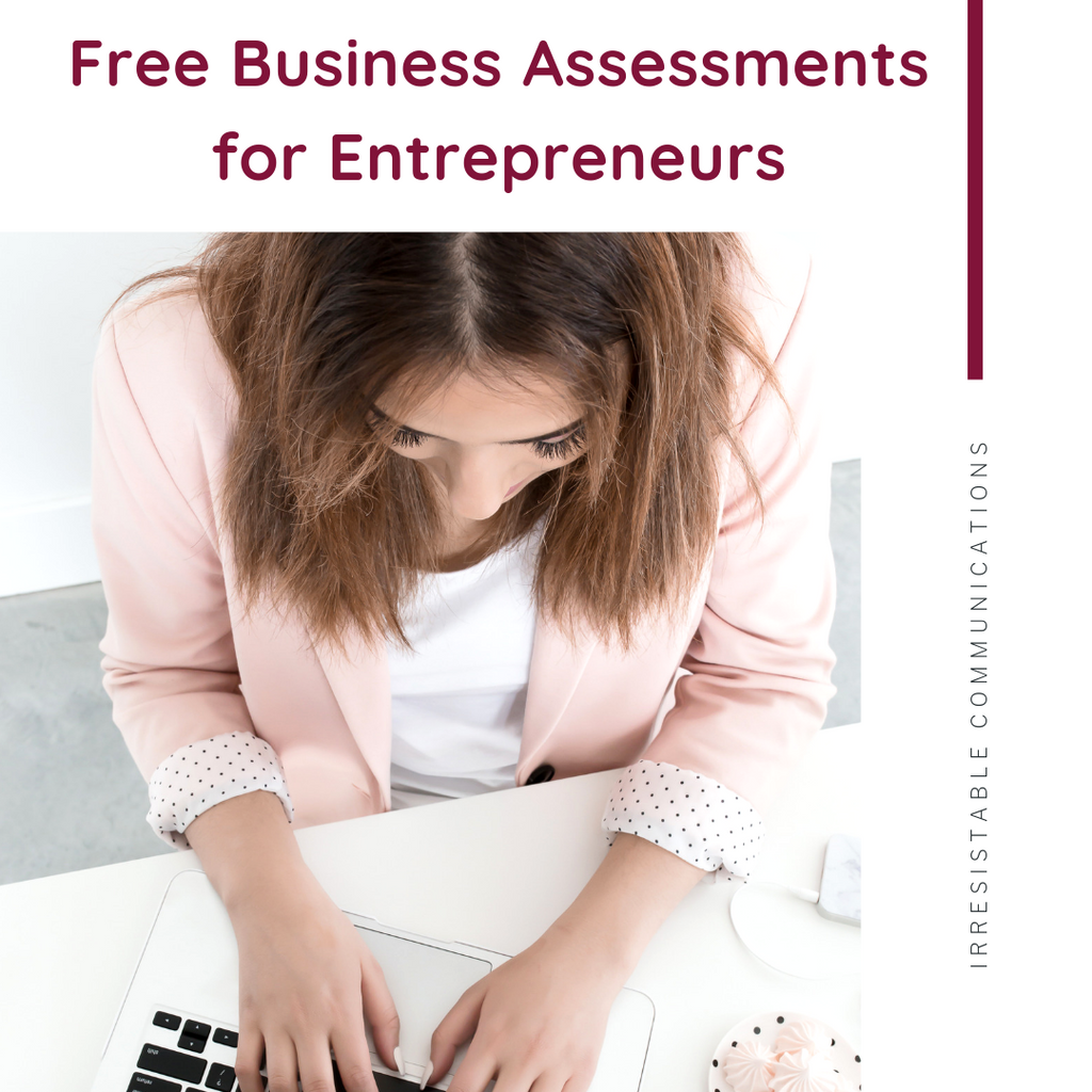 Free Business Assessments for Entrepreneurs