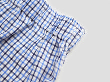 Load image into Gallery viewer, BLUE CHECKERED MEN'S BOXER