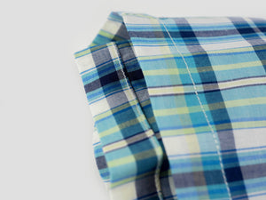 GREEN MADRAS MEN'S BOXER