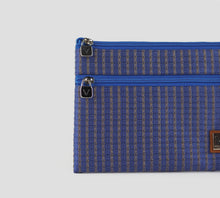 Load image into Gallery viewer, MEDIUM TWO-ZIPPER PURSE
