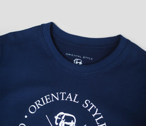 OS CROSSED LOGO T-SHIRT