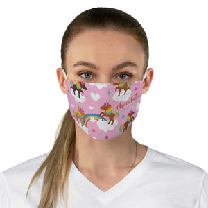 Signature Pattern Fabric Face Mask