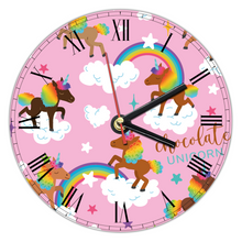 Load image into Gallery viewer, Signature Pattern Custom Wall Clock (30cm diameter)