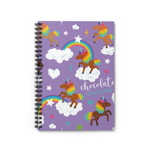 Signature Pattern Lavender Spiral Notebook - Ruled Line