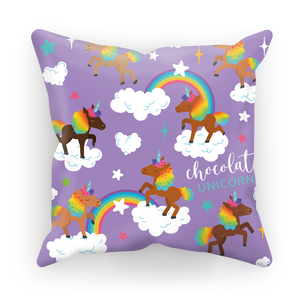 Signature Pattern (Purple) Sublimation Cushion Cover