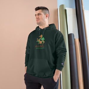 Chocolate Dragon Champion Hoodie