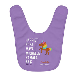 THE LEGACY CONTINUES Fleece Baby Bib