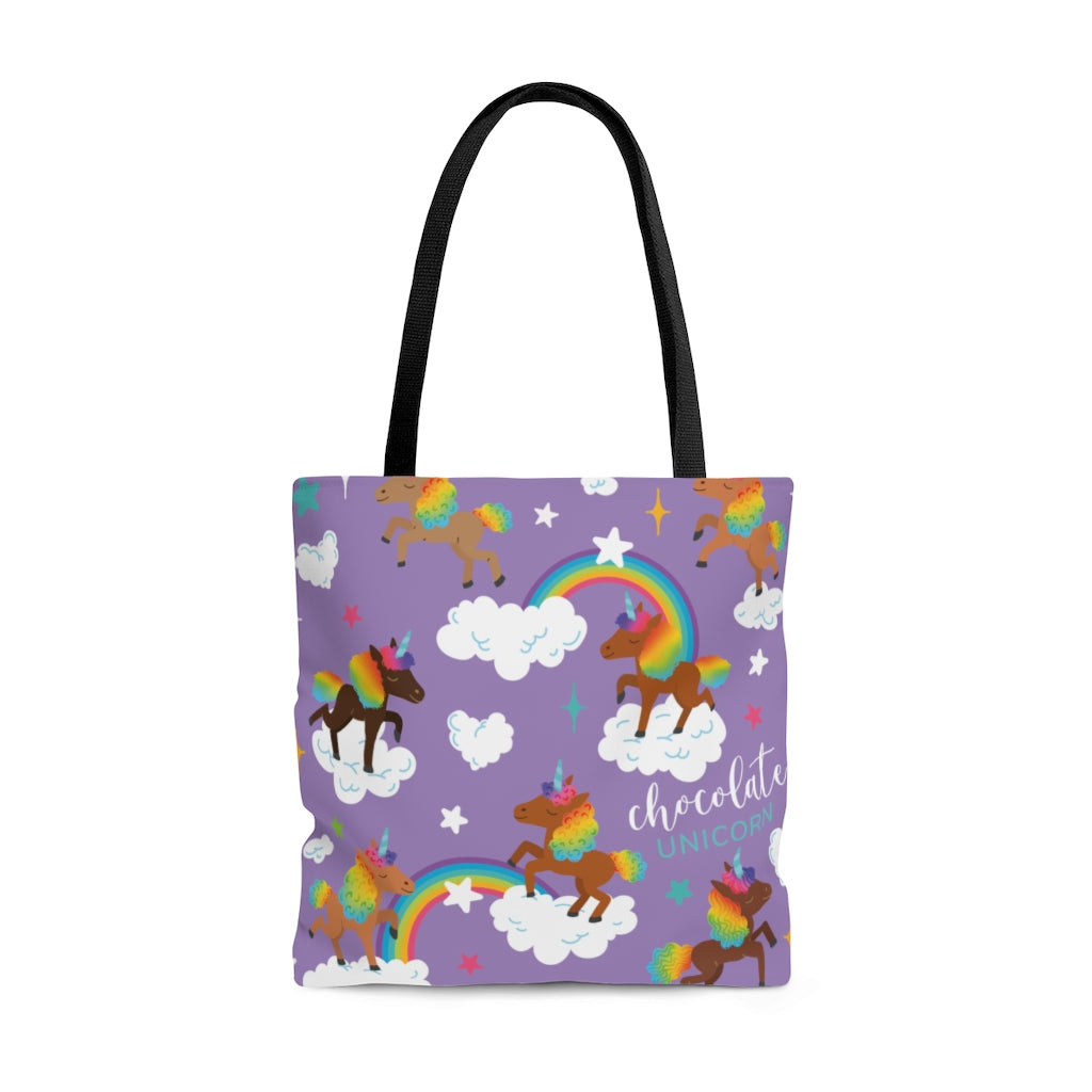 Signature Pattern (Purple) Tote Bag