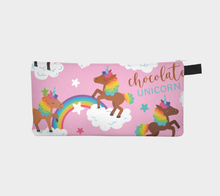 Load image into Gallery viewer, Chocolate Unicorn Pencil Case