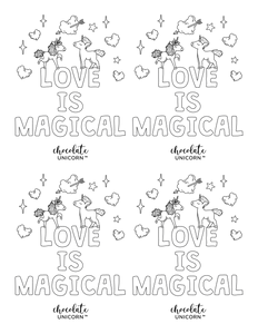 LOVE IS MAGICAL Valentine's Day Cards