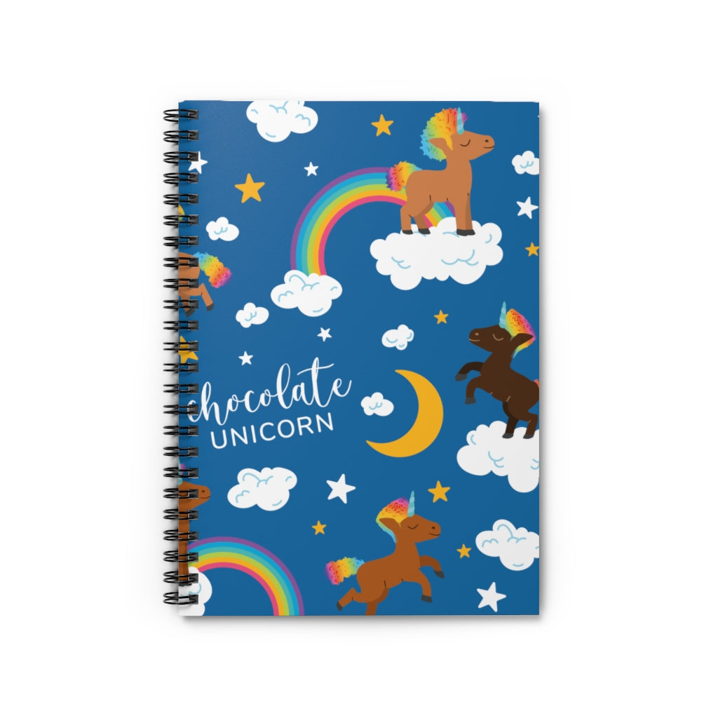 Signature Pattern (Male) Spiral Notebook - Ruled Line