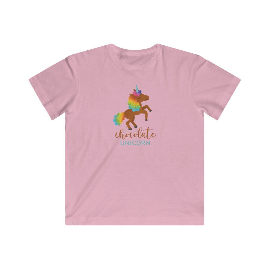 Kids Fine Jersey Tee (Jumping Unicorn)