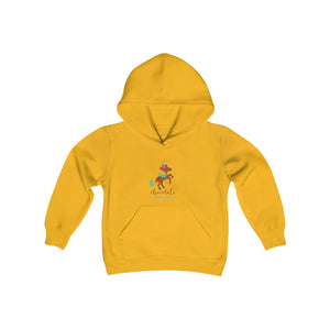 Chocolate Unicorn Youth Heavy Blend Hooded Sweatshirt