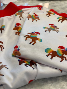 Holiday Signature Pattern Kids Pajamas (IN STOCK)