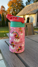 Load image into Gallery viewer, Signature Pattern Kids Water Bottle