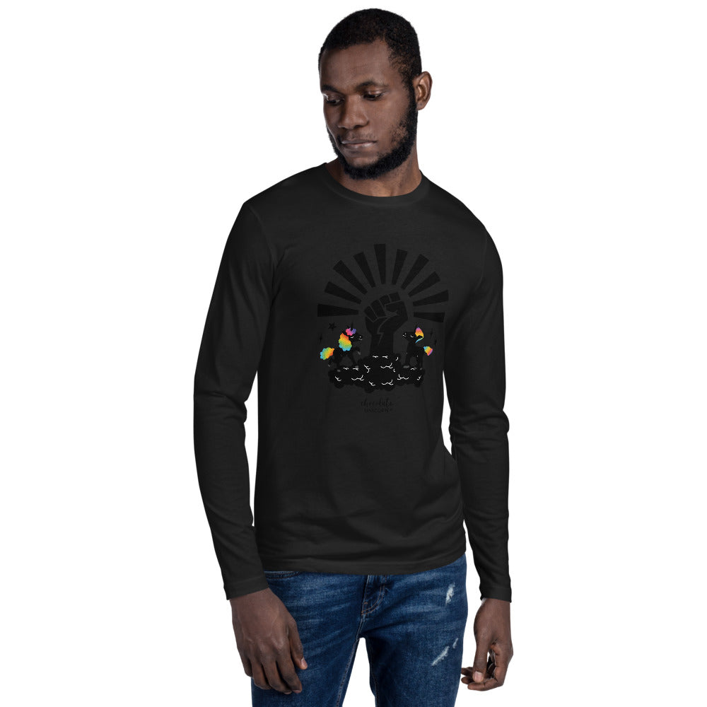 BHM Signature Collection Long Sleeve Fitted Crew