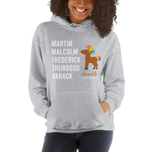 Load image into Gallery viewer, Chocolate Unicorn (Male) LEGACY Unisex Hoodie