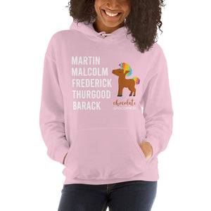 Chocolate Unicorn (Male) LEGACY Unisex Hoodie