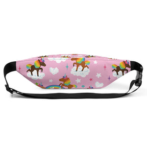 Chocolate Unicorn Fanny Pack
