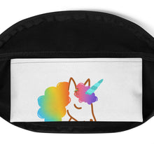Load image into Gallery viewer, Chocolate Unicorn Fanny Pack