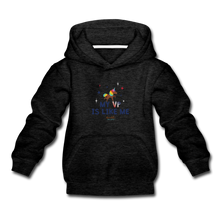 Load image into Gallery viewer, MY VP IS LIKE ME Kids' Premium Hoodie - charcoal gray