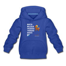 Load image into Gallery viewer, Chocolate Unicorn (Male) LEGACY Kids' Premium Hoodie - royal blue