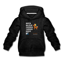 Load image into Gallery viewer, Chocolate Unicorn (Male) LEGACY Kids' Premium Hoodie - charcoal gray