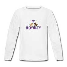 Load image into Gallery viewer, WE ARE ROYALTY Kids' Premium Long Sleeve T-Shirt - white