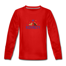 Load image into Gallery viewer, WE ARE ROYALTY Kids' Premium Long Sleeve T-Shirt - red