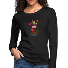 Load image into Gallery viewer, My LOVE Women's Premium Long Sleeve T-Shirt - black
