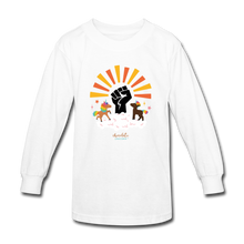 Load image into Gallery viewer, BHM Signature Collection Youth Sunshine T-Shirt - white