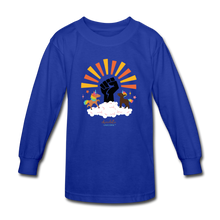 Load image into Gallery viewer, BHM Signature Collection Youth Sunshine T-Shirt - royal blue
