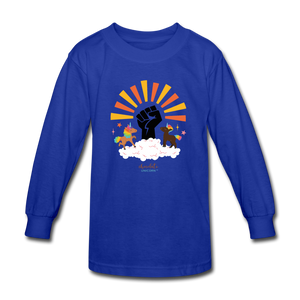 BHM Signature Collection Youth Sunshine T-Shirt - royal blue