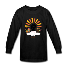 Load image into Gallery viewer, BHM Signature Collection Youth Sunshine T-Shirt - black