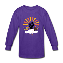 Load image into Gallery viewer, BHM Signature Collection Youth Sunshine T-Shirt - dark purple