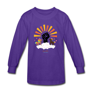 BHM Signature Collection Youth Sunshine T-Shirt - dark purple