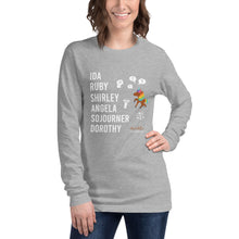 Load image into Gallery viewer, The POLITICAL Trailblazers (Unicorn) Unisex Long Sleeve Tee