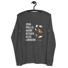 Load image into Gallery viewer, The LITERARY Trailblazers (Unicorn) Unisex Long Sleeve Tee