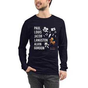The Male ARTISTIC & PERFORMING ARTS Trailblazers (Unicorn) Unisex Long Sleeve Tee