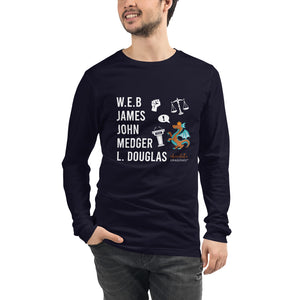The Male POLITICAL Trailblazers (Dragon) Unisex Long Sleeve Tee