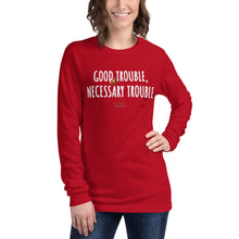 Load image into Gallery viewer, GOOD TROUBLE Unisex Long Sleeve Tee