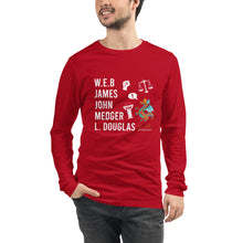 Load image into Gallery viewer, The Male POLITICAL Trailblazers (Dragon) Unisex Long Sleeve Tee