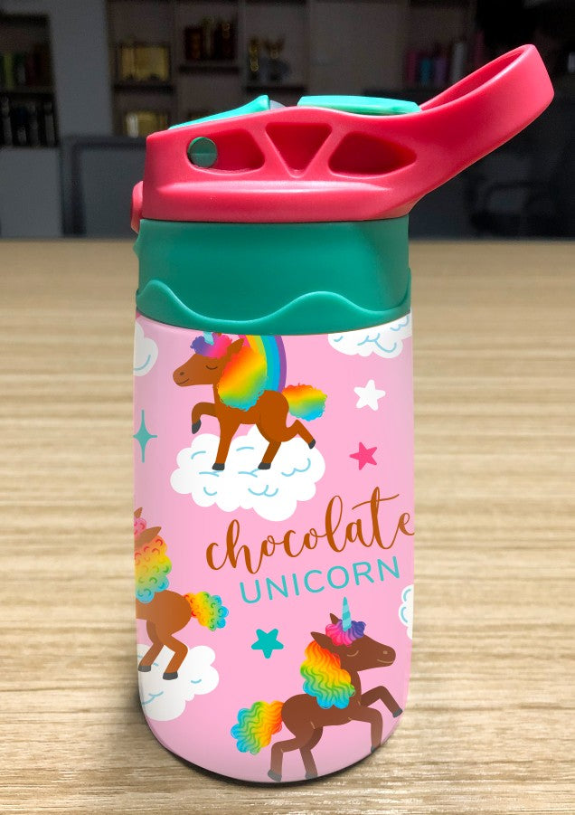 Signature Pattern Kids Water Bottle