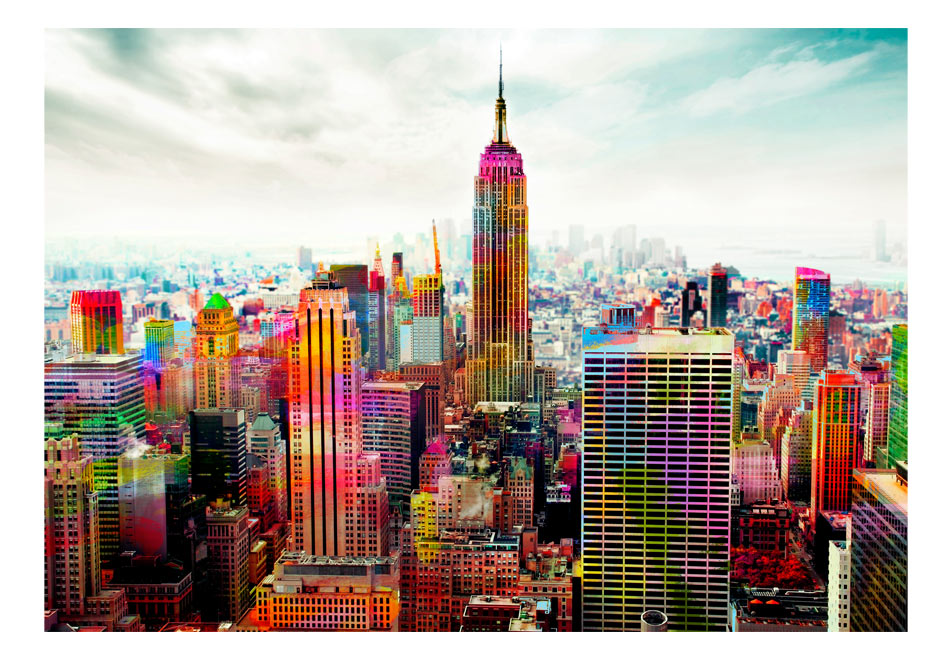 Fototapet - Colors of New York City
