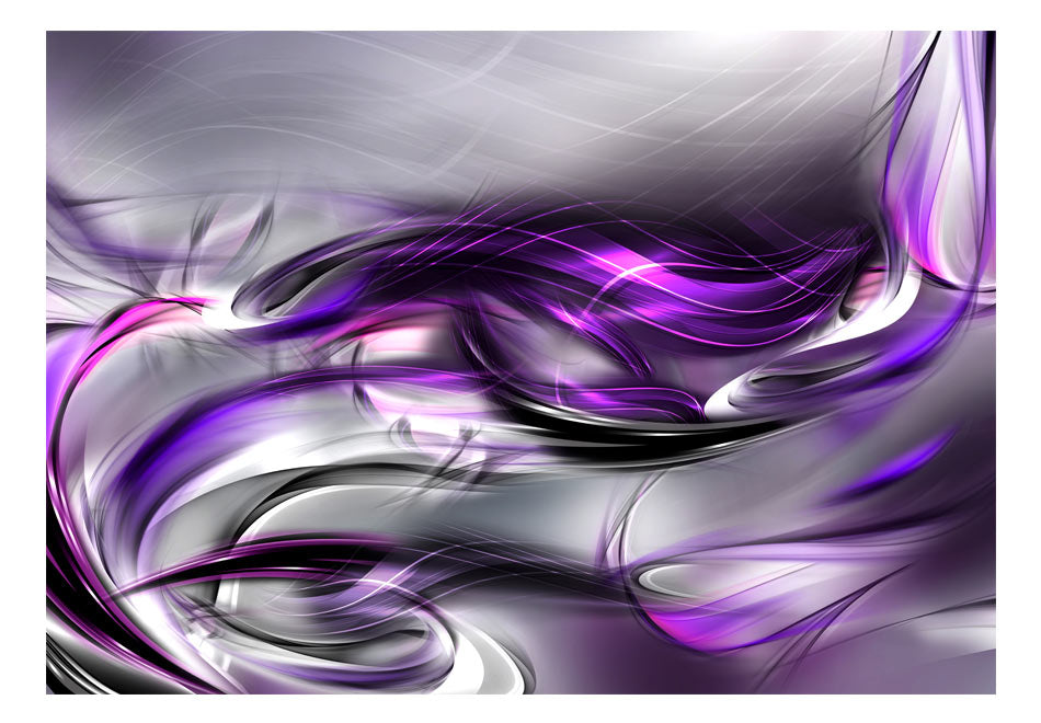 Fototapet - Purple Swirls