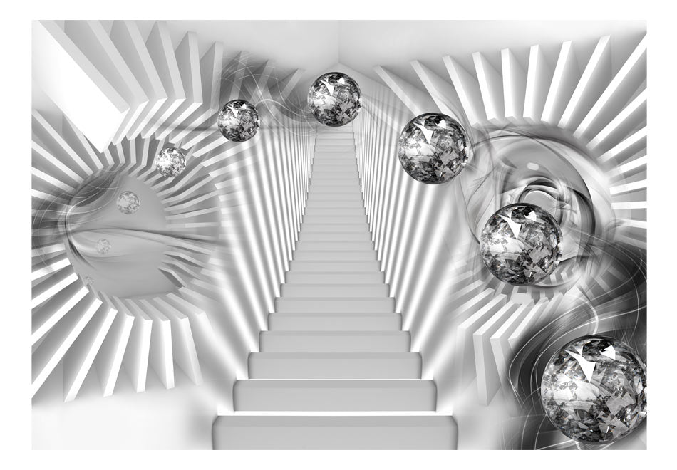 Fototapet - Silver Stairs