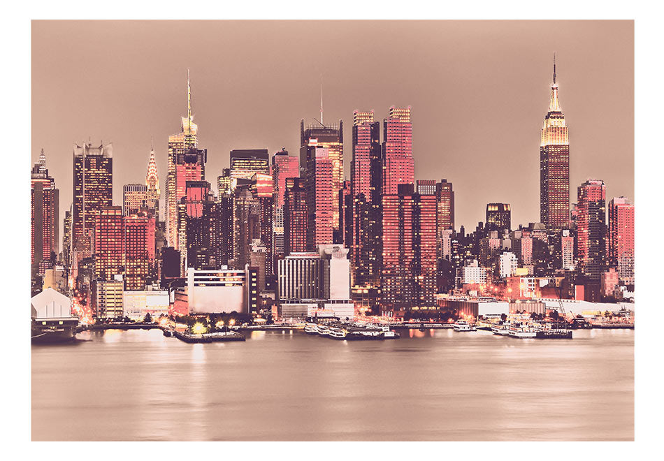 Fototapet - NY - Midtown Manhattan Skyline